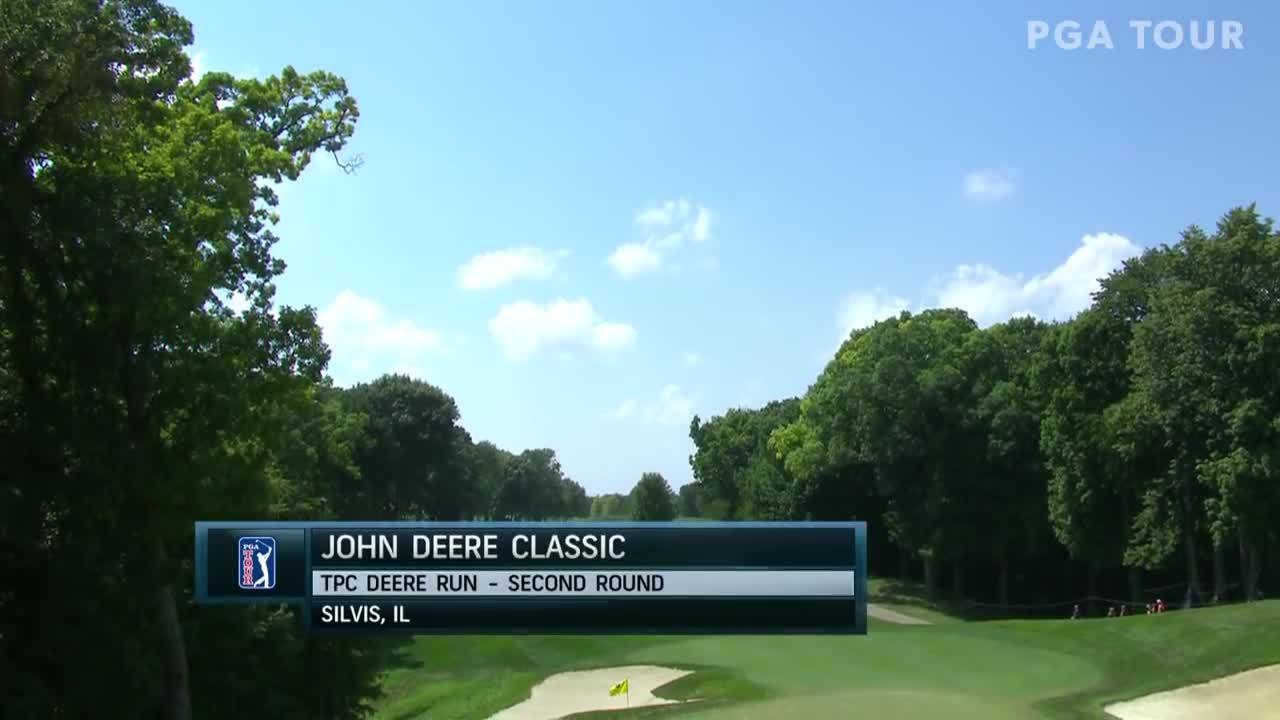 Diễn biến vòng hai John Deere Classic