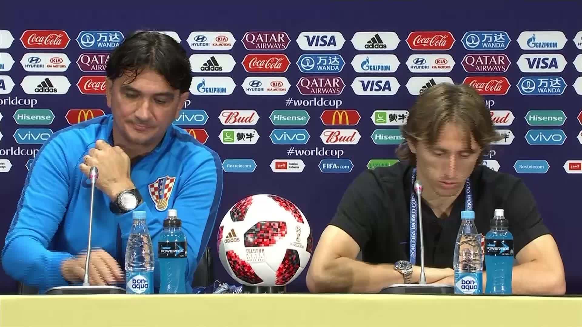 Luka Modric nói về tầm quan trọng của Mario Mandzukic