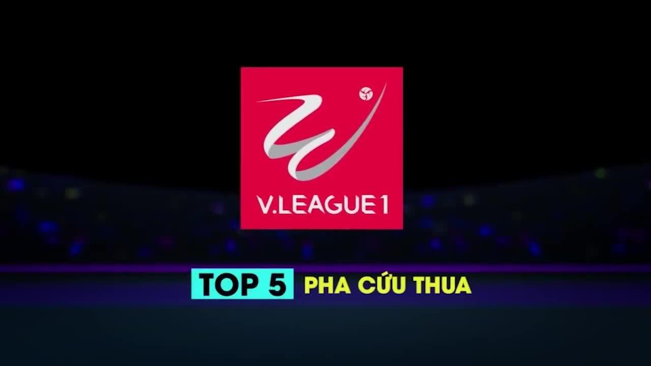 Top 5 pha cứu thua ấn tượng vòng 19 V.League 2018