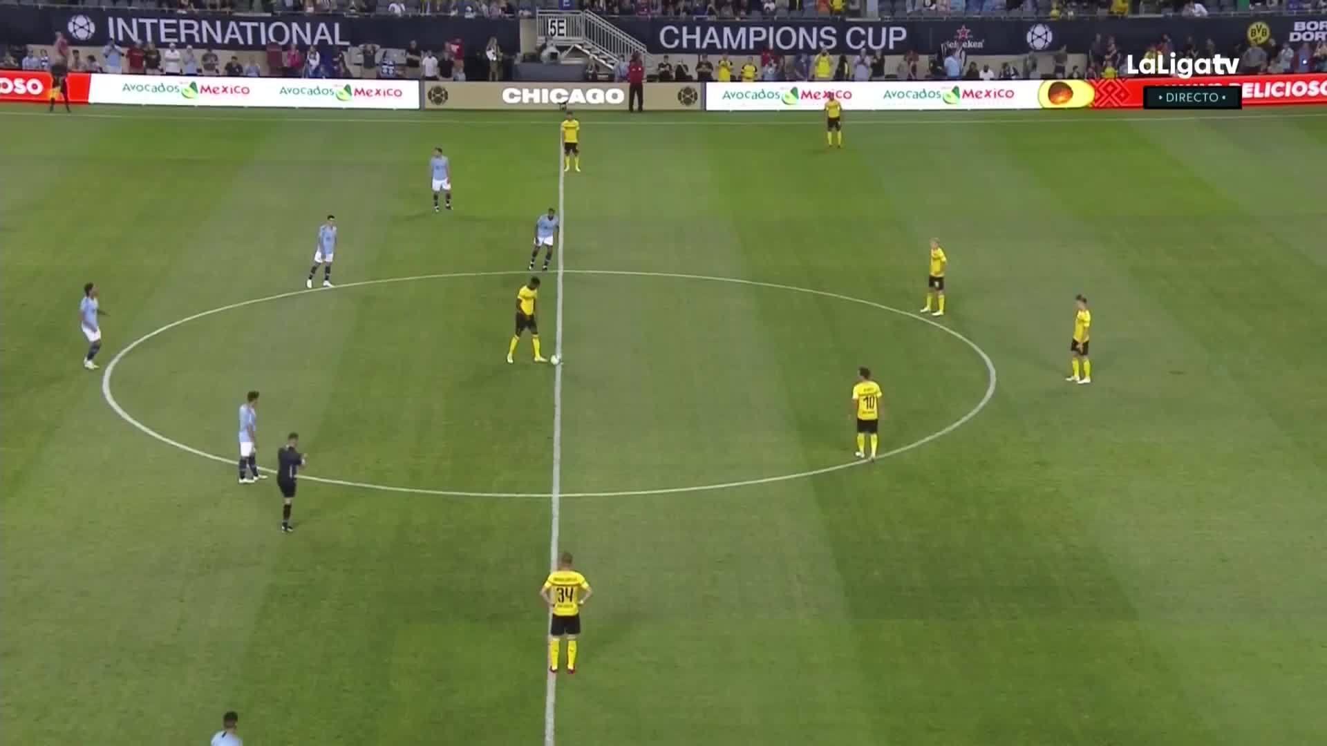 Man City 0-1 Dortmund