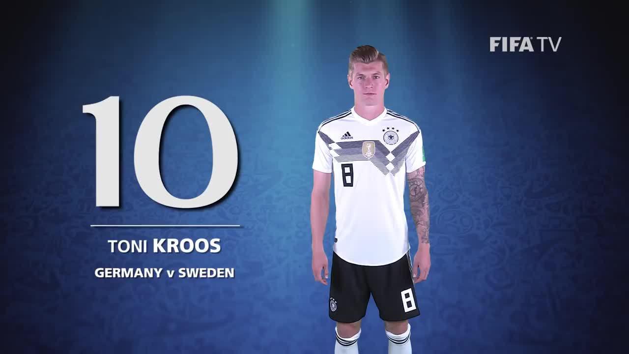 Top 10 bàn thắng ở World Cup 2018