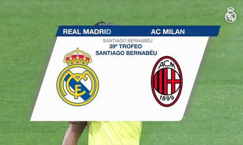Real Madrid 3-1 AC Milan