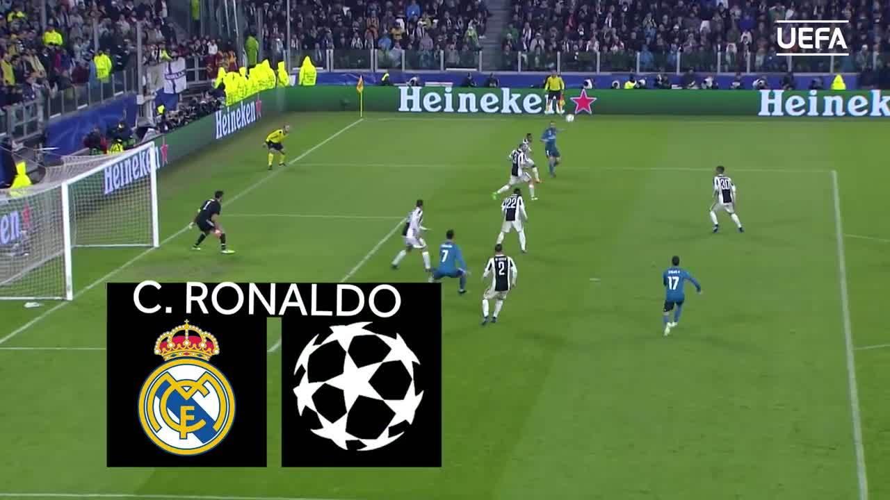 Những bàn thắng đẹp nhất tại UEFA