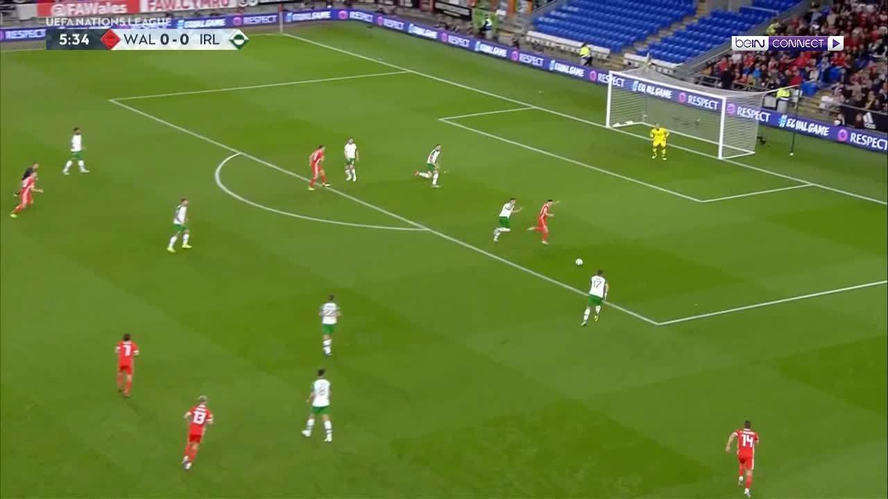 Xứ Wales 4-1 CH Ireland