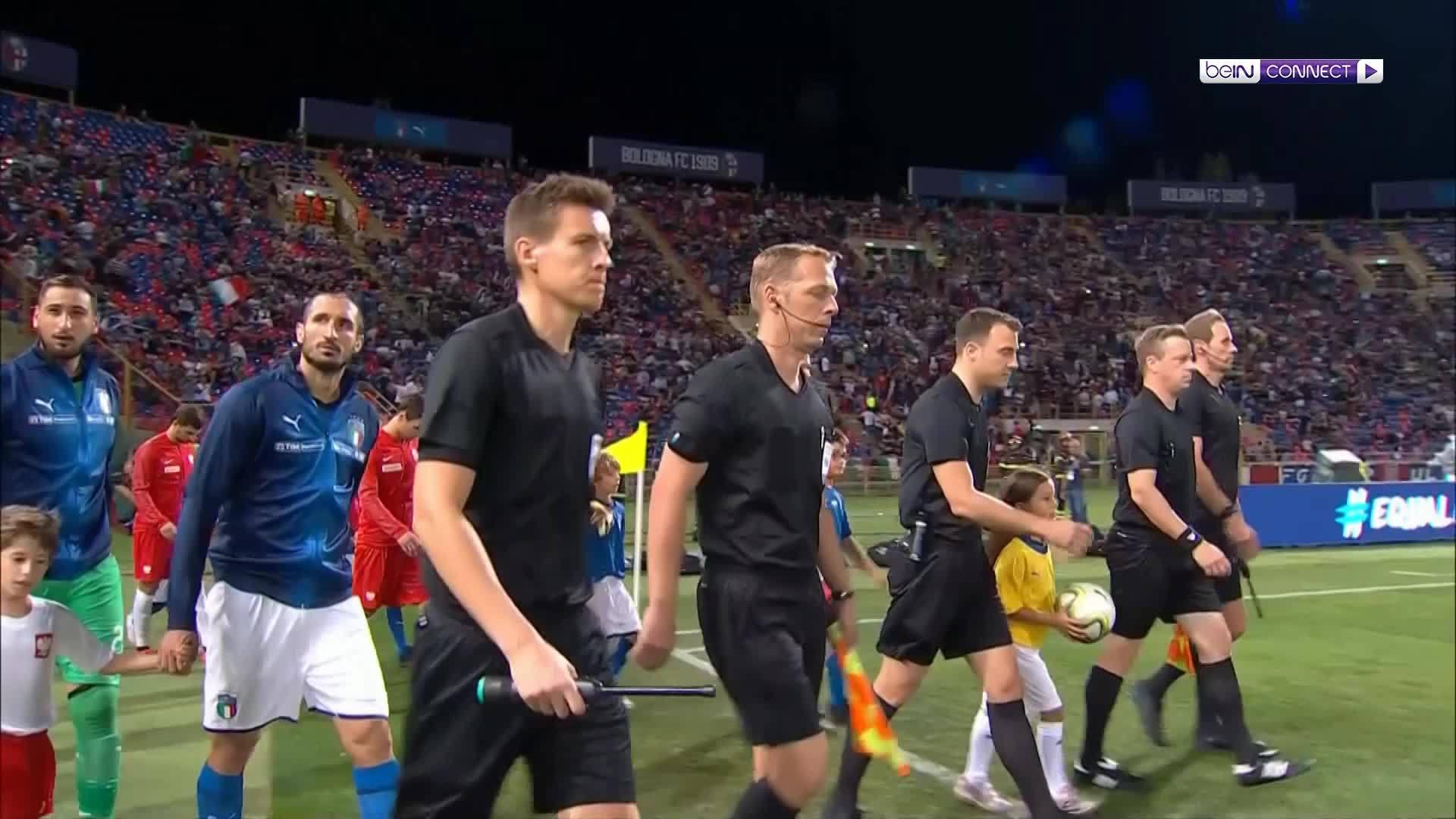Italia 1-1 Ba Lan