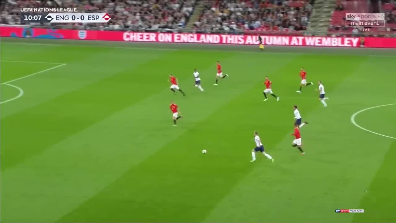 Anh 1-2 Tây Ban Nha