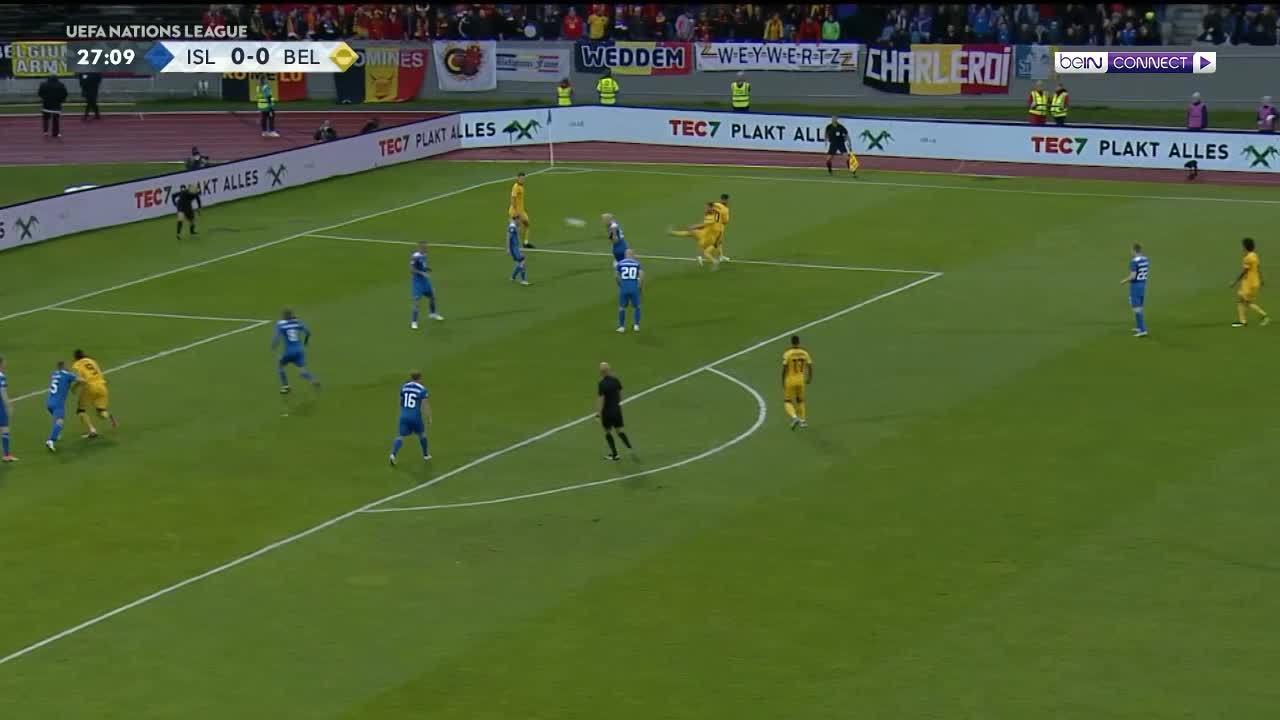 Iceland 0-3 Bỉ