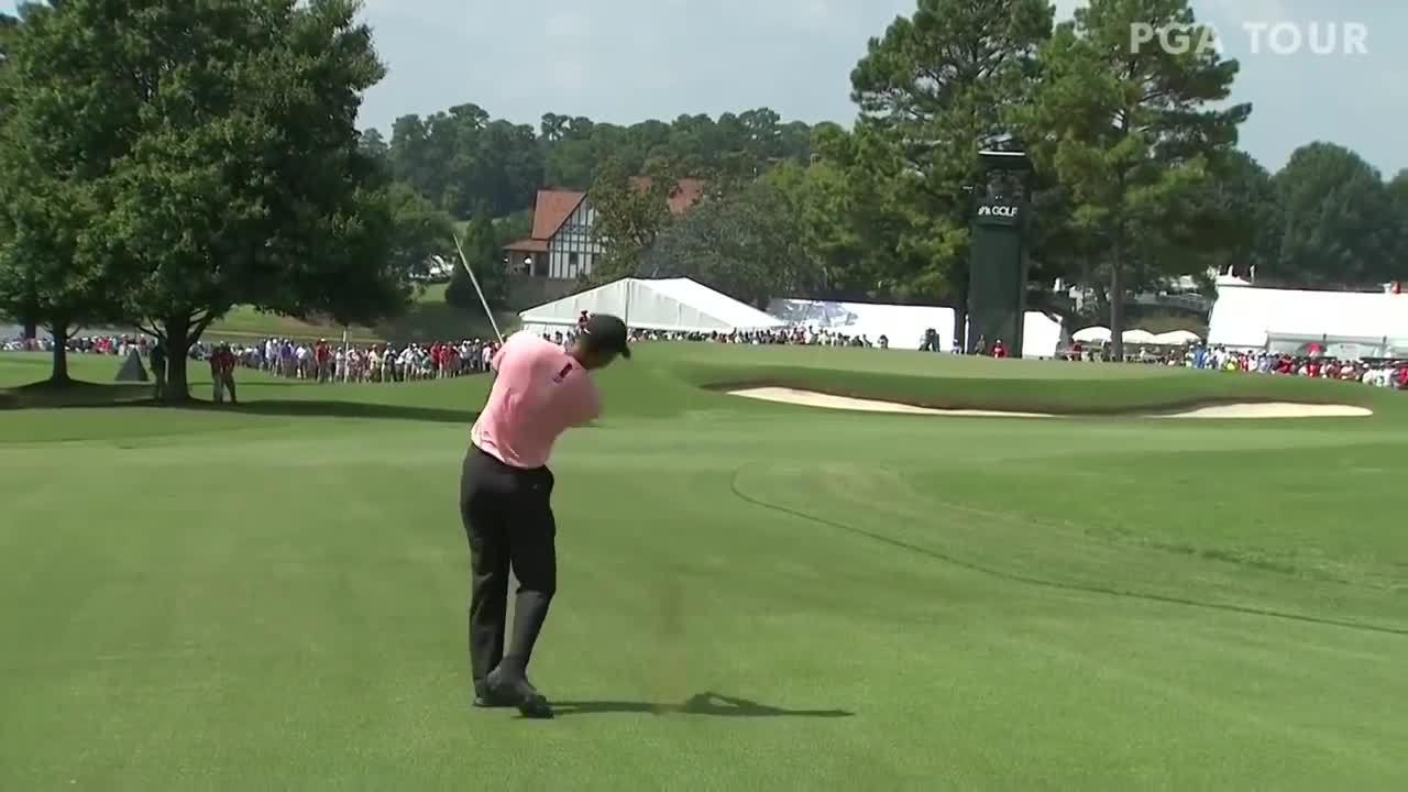 Màn trình diễn của Tiger Woods ở vòng một Tour Championship