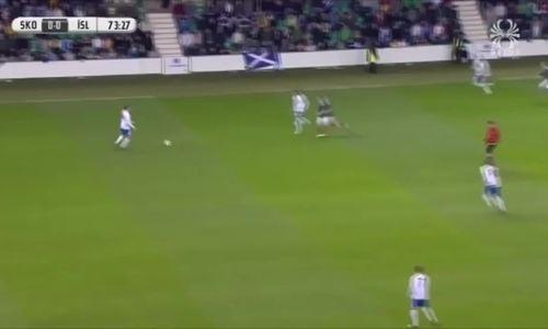 Sigurdsson ghi hai siêu phẩm vào lưới U21 Scotland