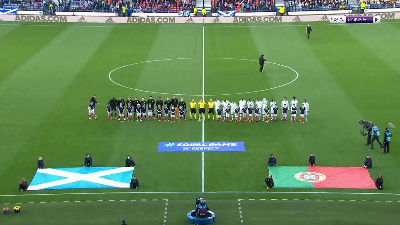 Scotland 1-3 Bồ Đào Nha