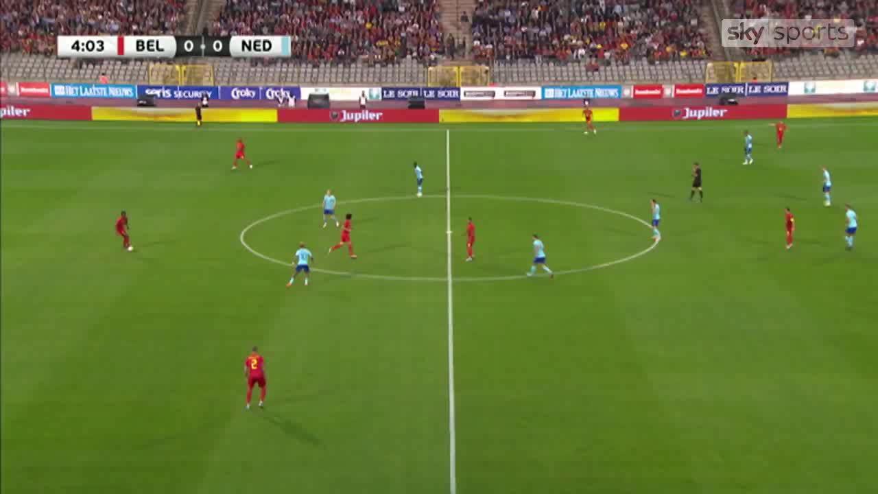 Bỉ 1-1 Hà Lan