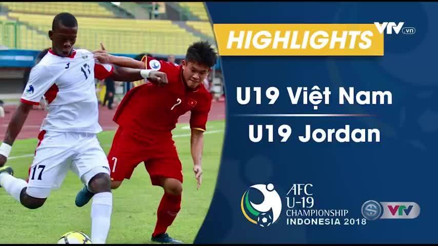 U19 Việt Nam 1-2 U19 Jordan