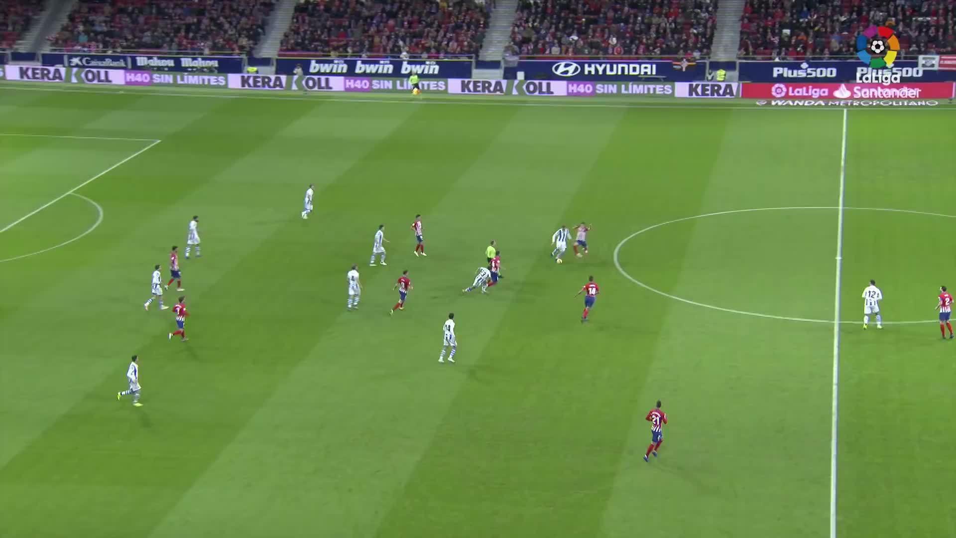 Atlético de Madrid 2-0 Real Sociedad