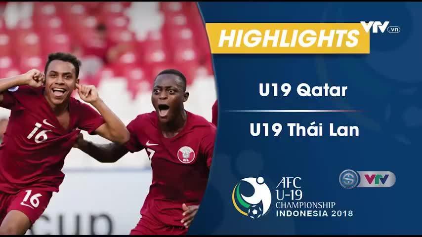 U19 Qatar 7-3 U19 Thái Lan