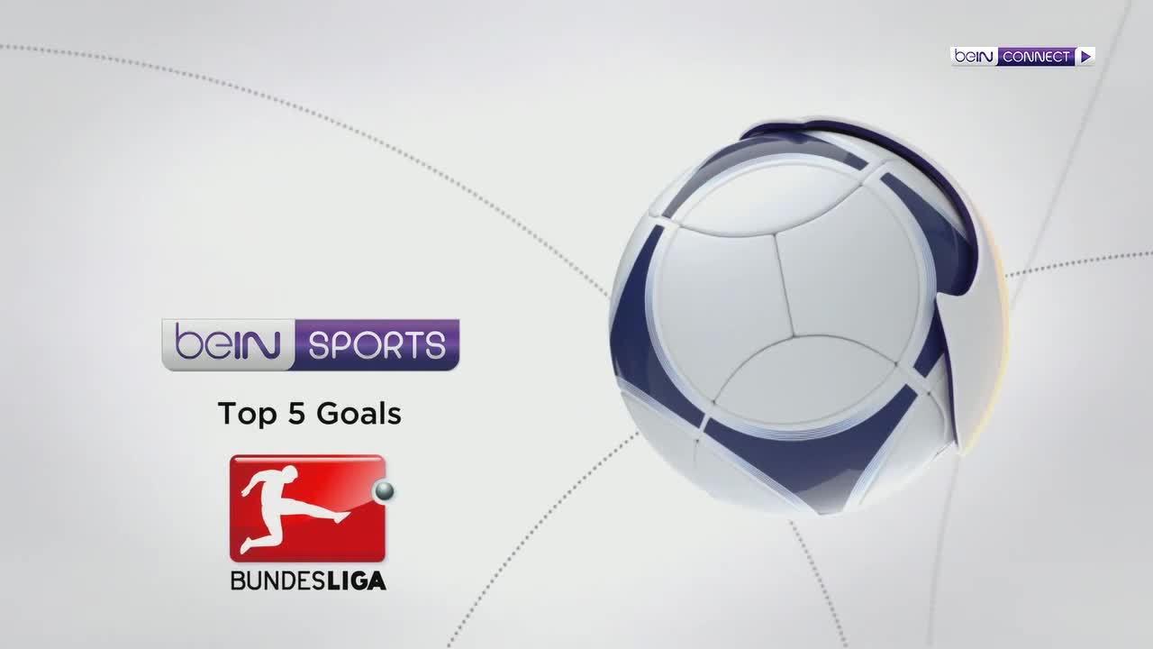 Top 5 bàn thắng vòng 9 Bundesliga