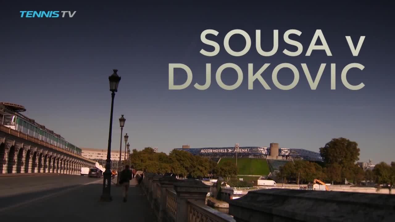 Joao Sousa 0-2 Novak Djokovic