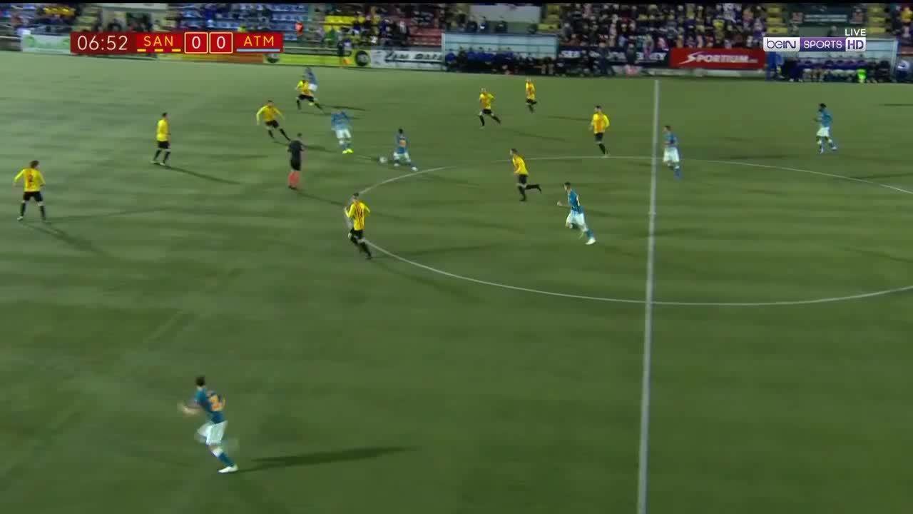 Sant Andreu 0-1 Atletico Madrid