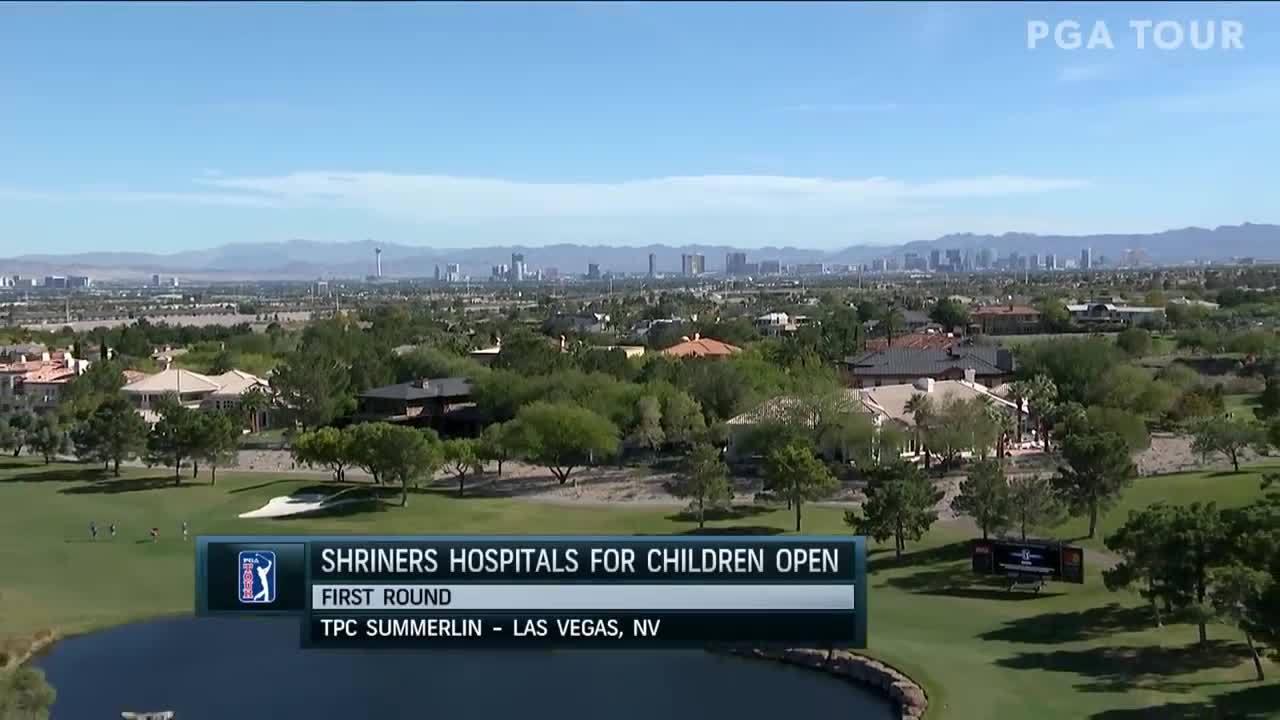 Diễn biến vòng một giải Shriners Hospitals