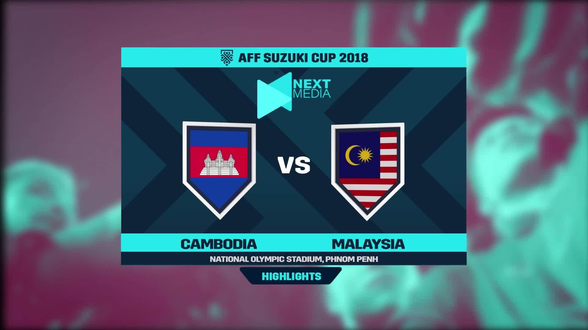 Campuchia 0-1 Malaysia