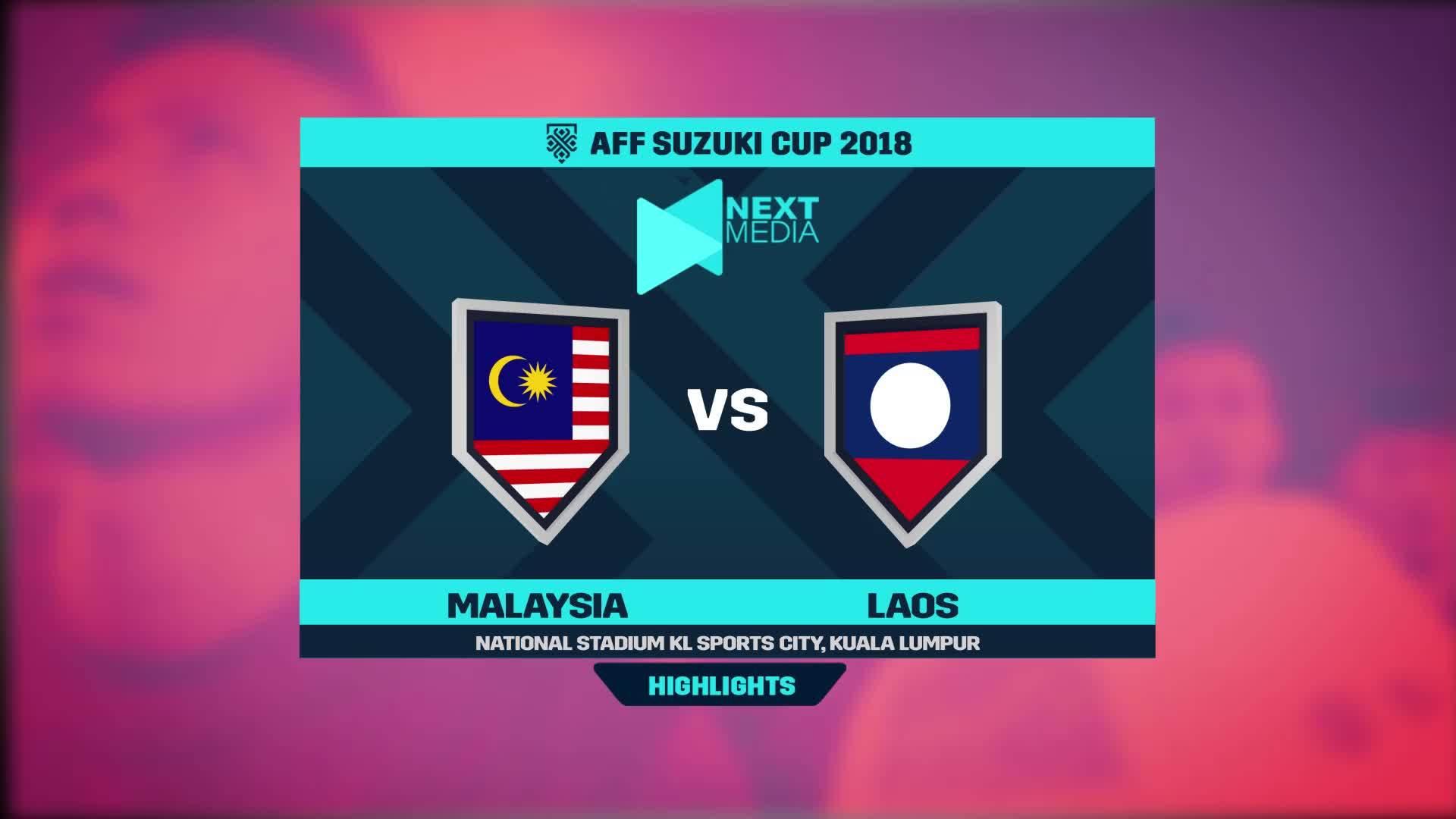 Malaysia 3-1 Lào