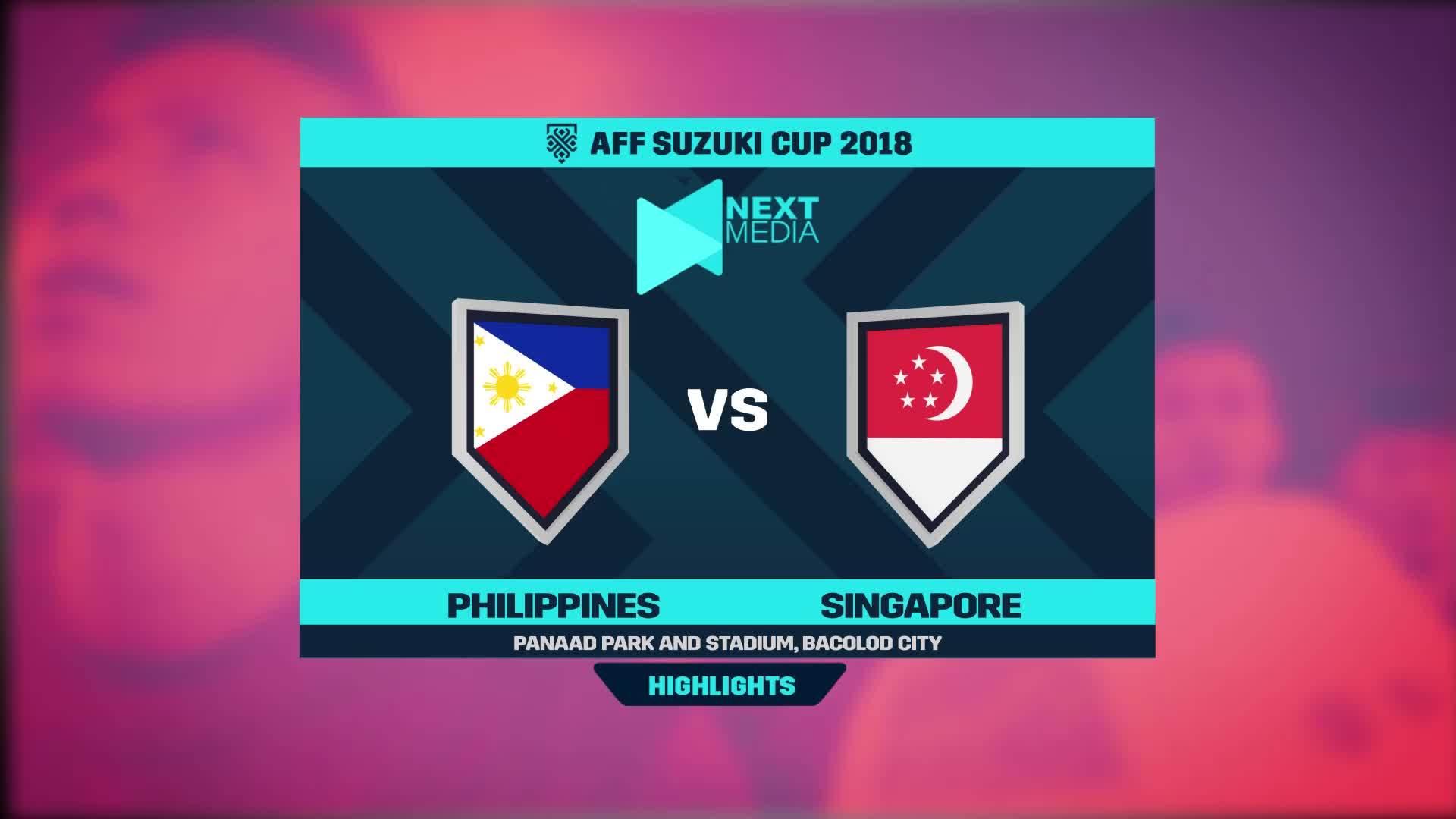 Philippines 1-0 Singapore