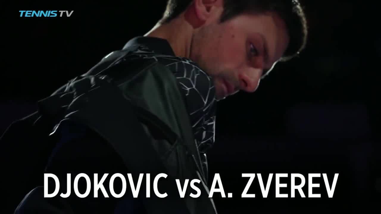 Novak Djokovic 2-0 Alexander Zverev