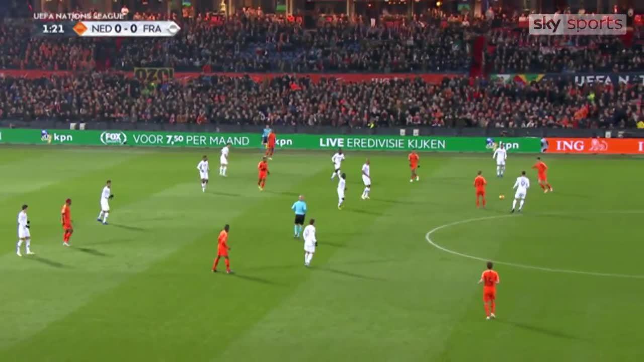 Hà Lan 2-0 Pháp