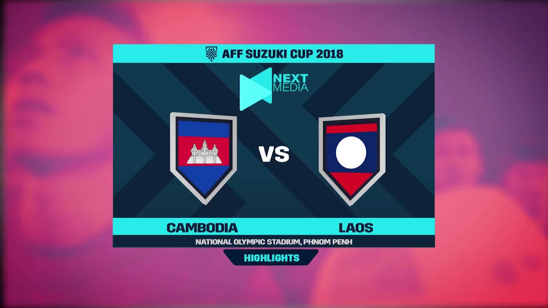 Campuchia 3-1 Lào