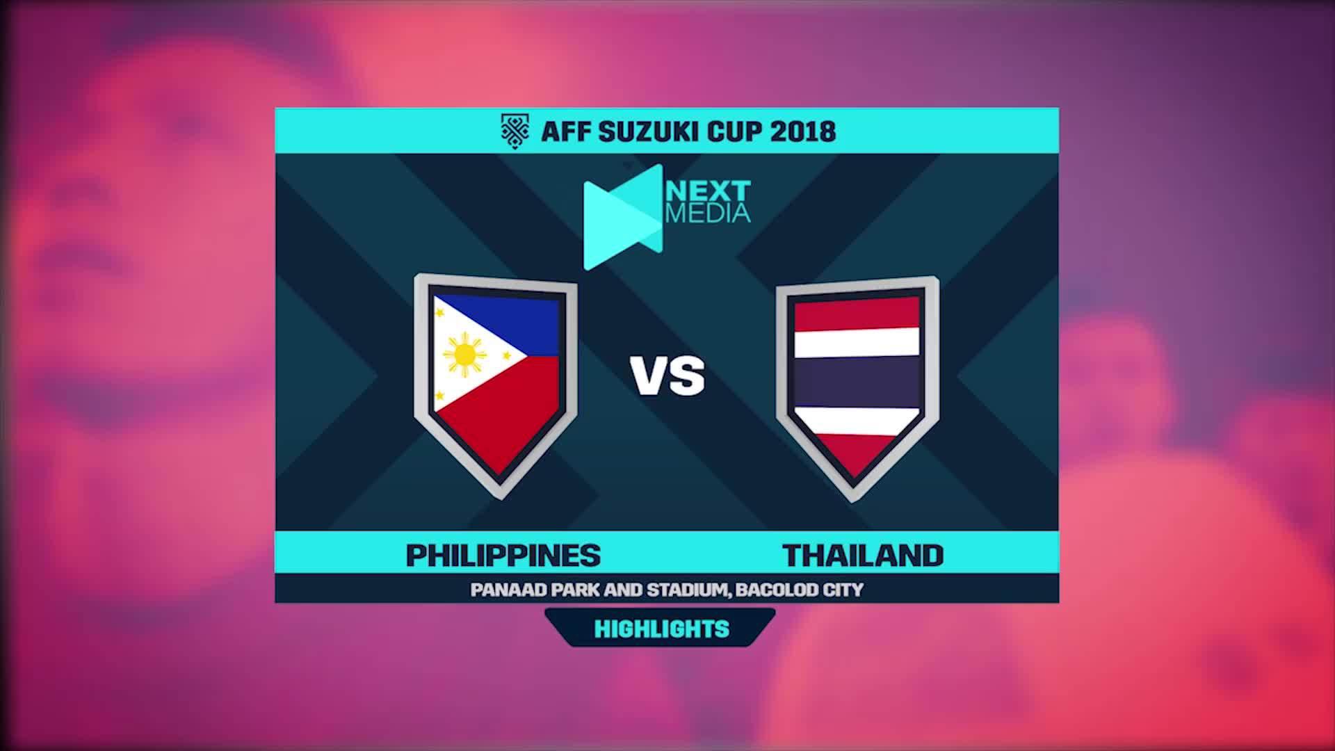 Philippines 1-1 Thái Lan