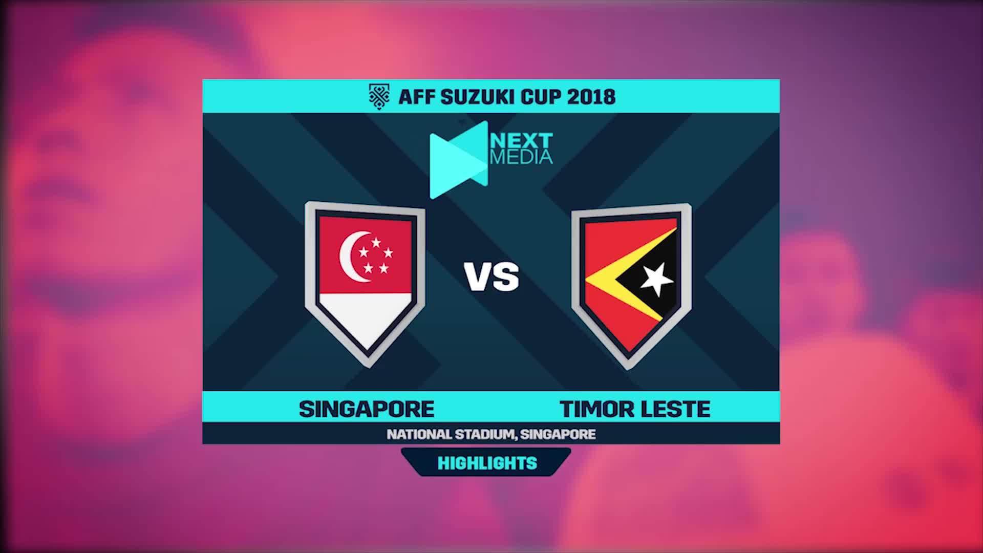 Singapore 6-1 Timor-Leste