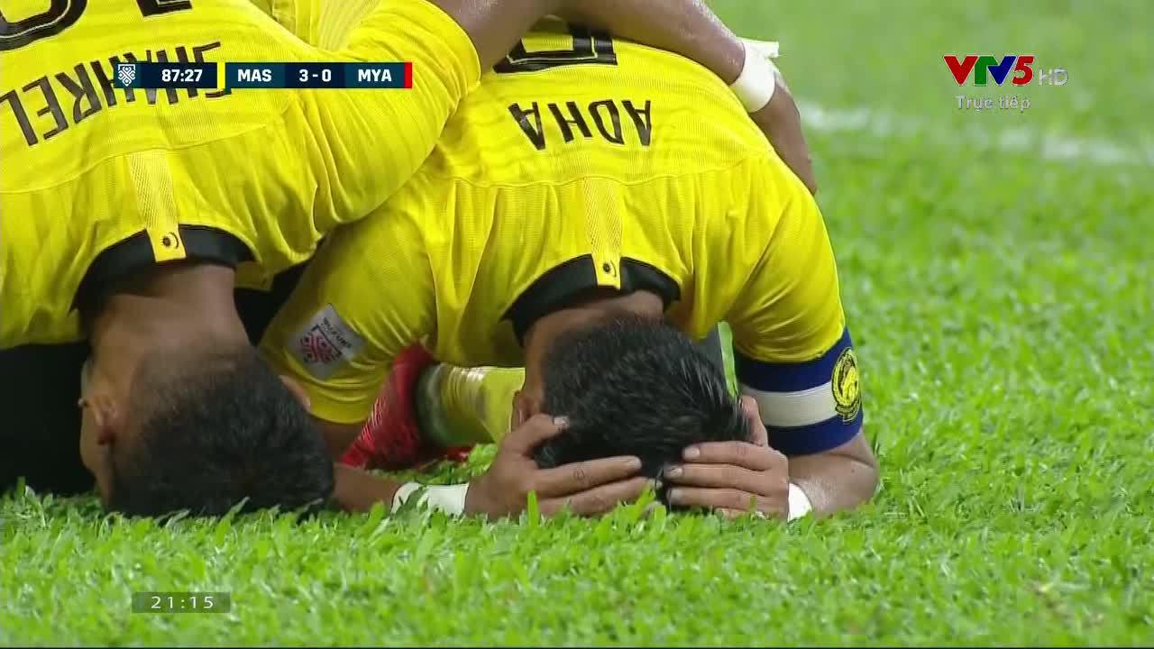 3-0 cho Malaysia