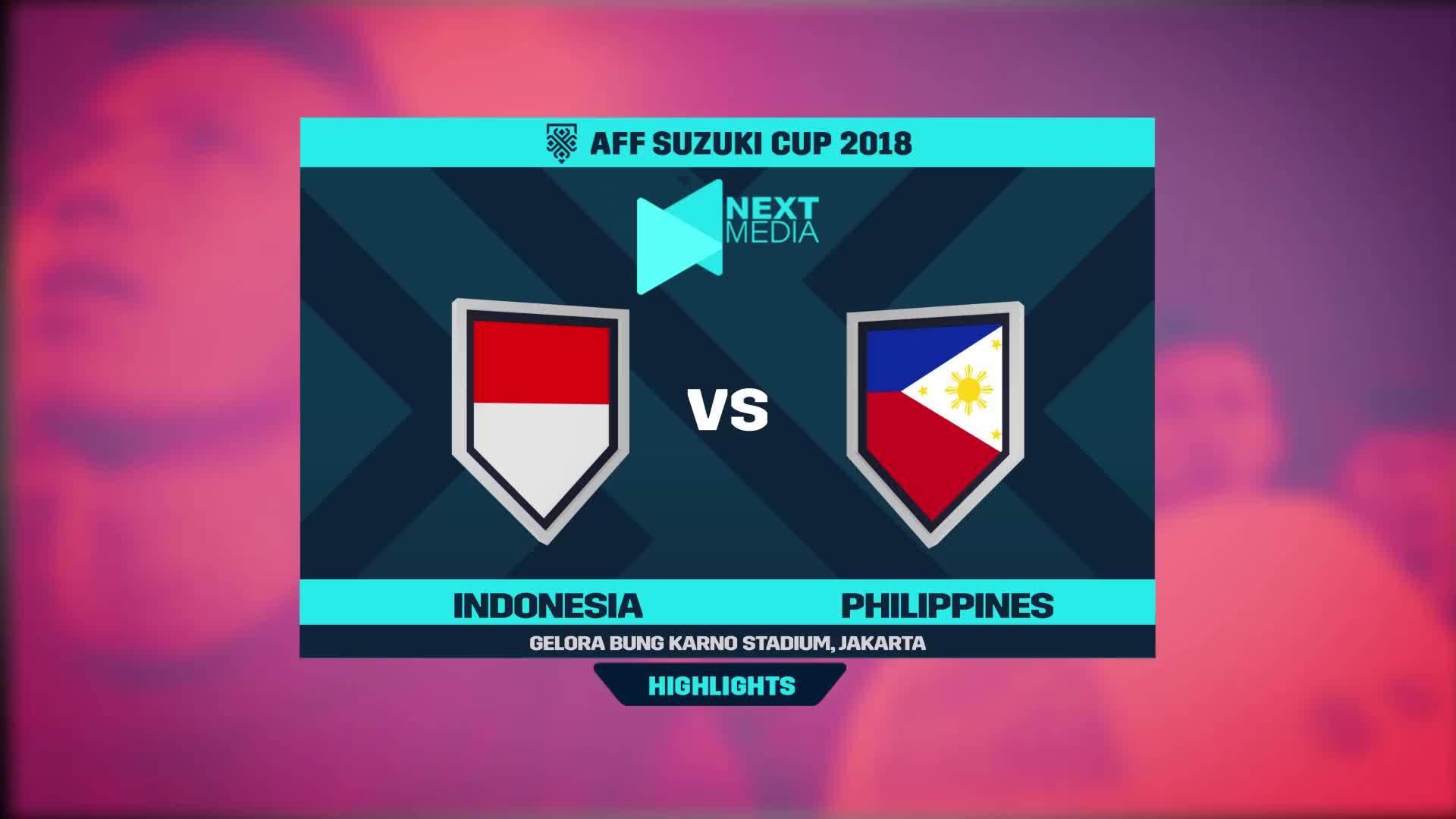 Philippines 0-0 Indonesia