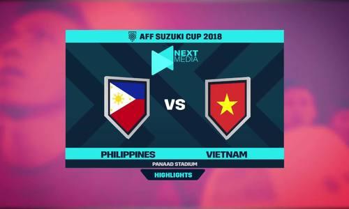 Philippines 1-2 Việt Nam
