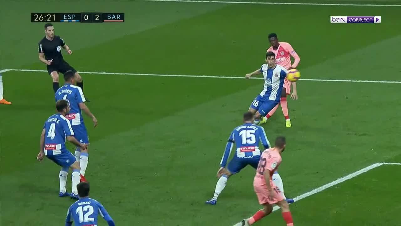 Espanyol 0-4 Barcelona