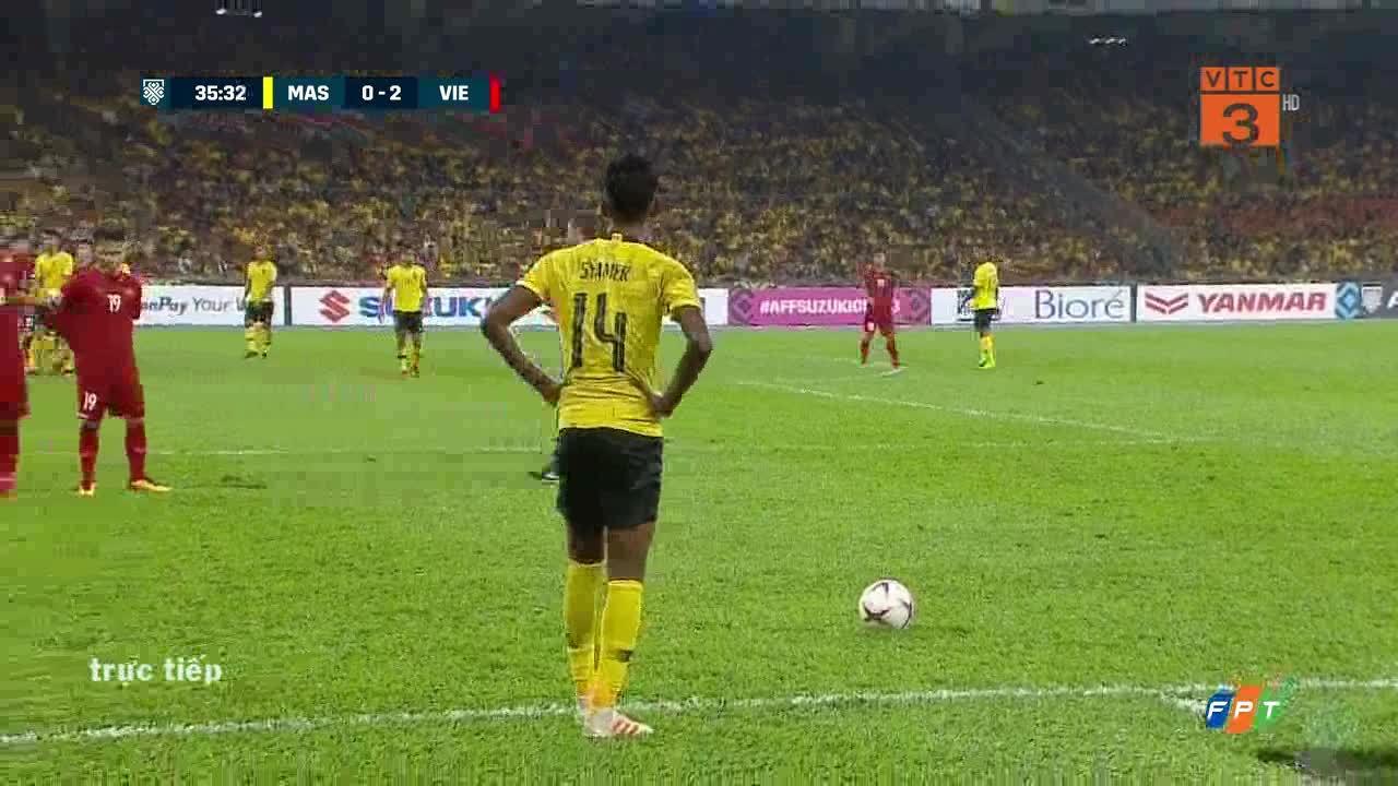 1-2 cho Malaysia