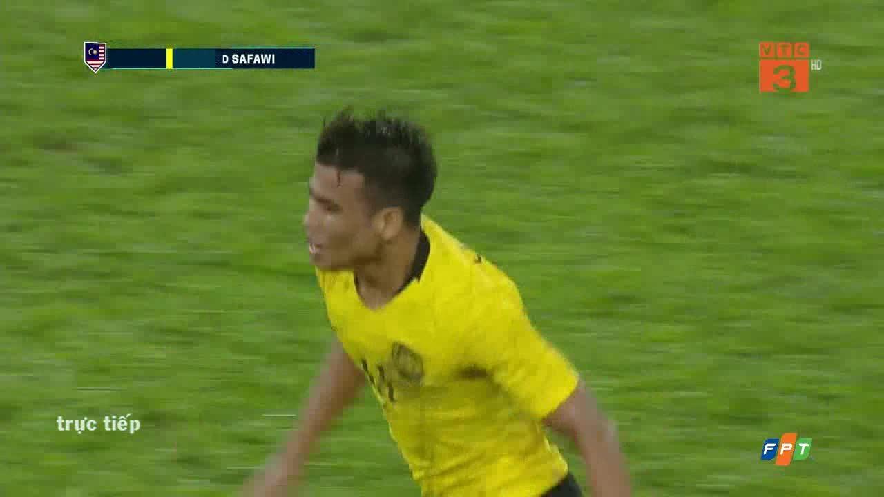 2-2 cho Malaysia