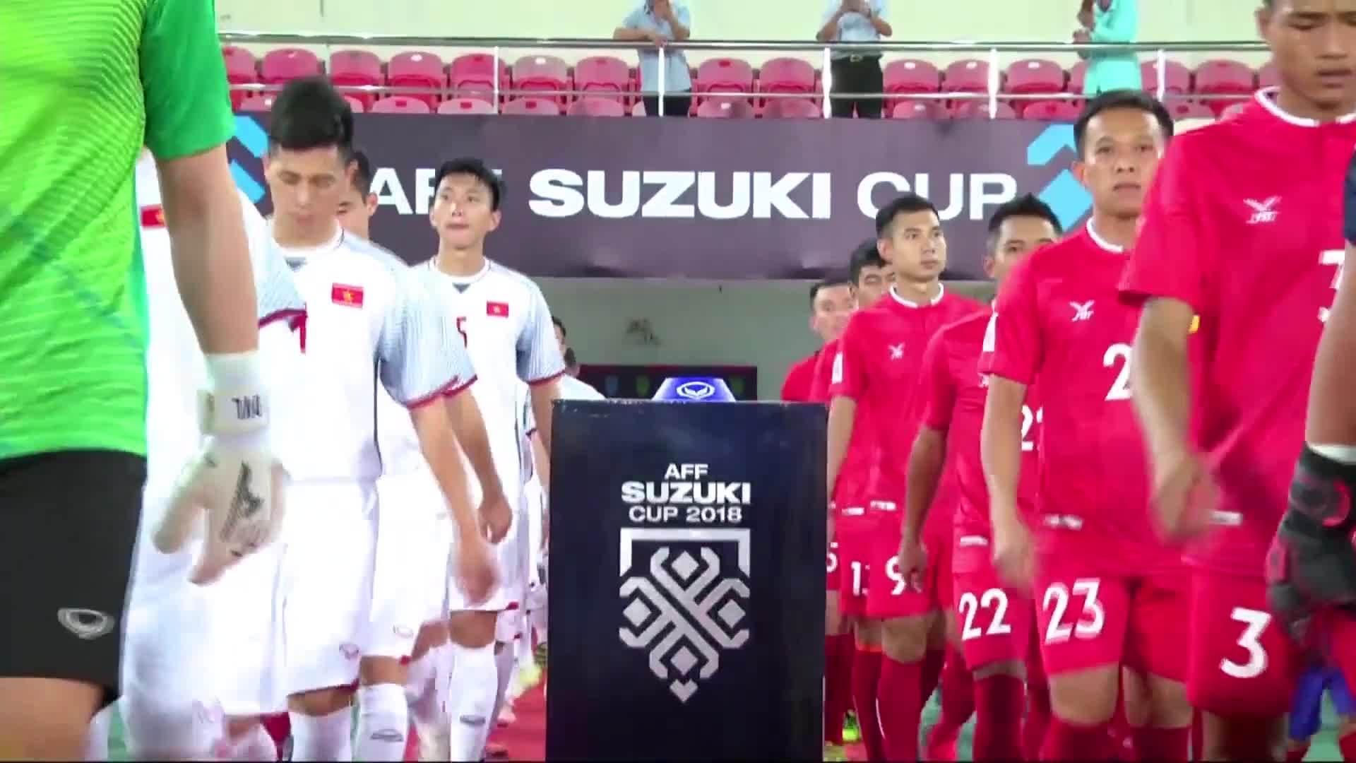 Những pha ghi bàn của tuyển Việt Nam tại AFF Cup 2018