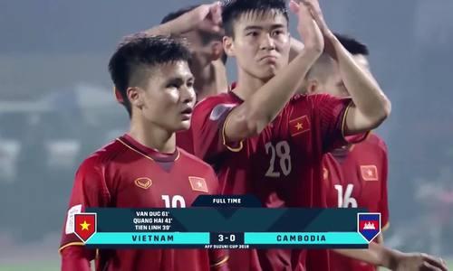 Đường vào chung kết AFF Cup 2018 của tuyển Việt Nam