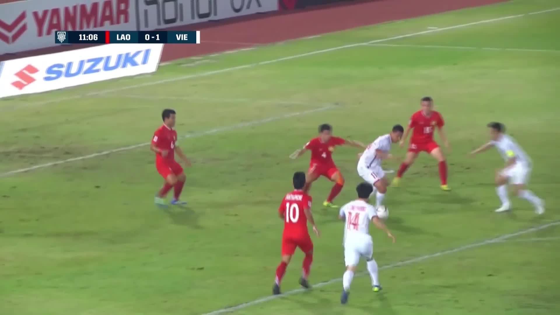 Những pha ghi bàn của tuyển Việt Nam ở AFF Cup 2018