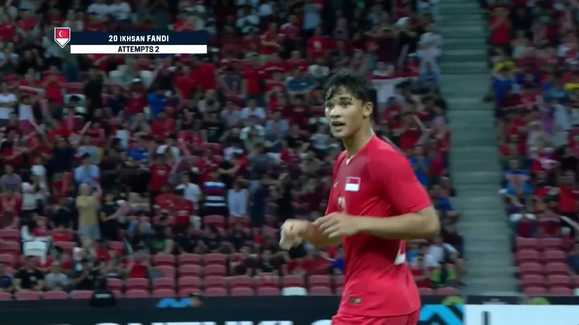 Ikhsan Fandi (Singapore 6-1 Timor Leste)