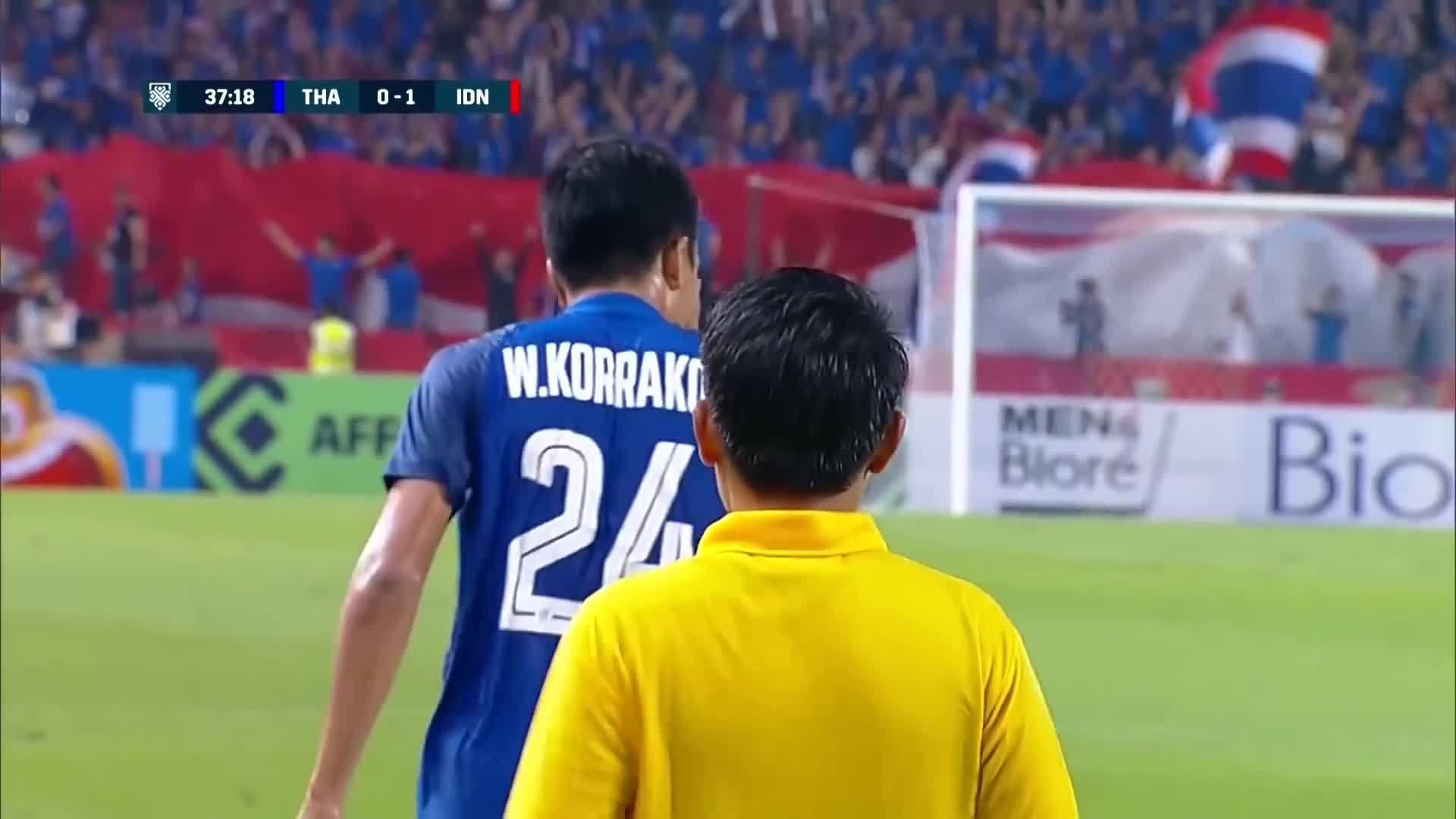 Korrakot Wiriyaudomsiri (Thái Lan 4-2 Indonesia)