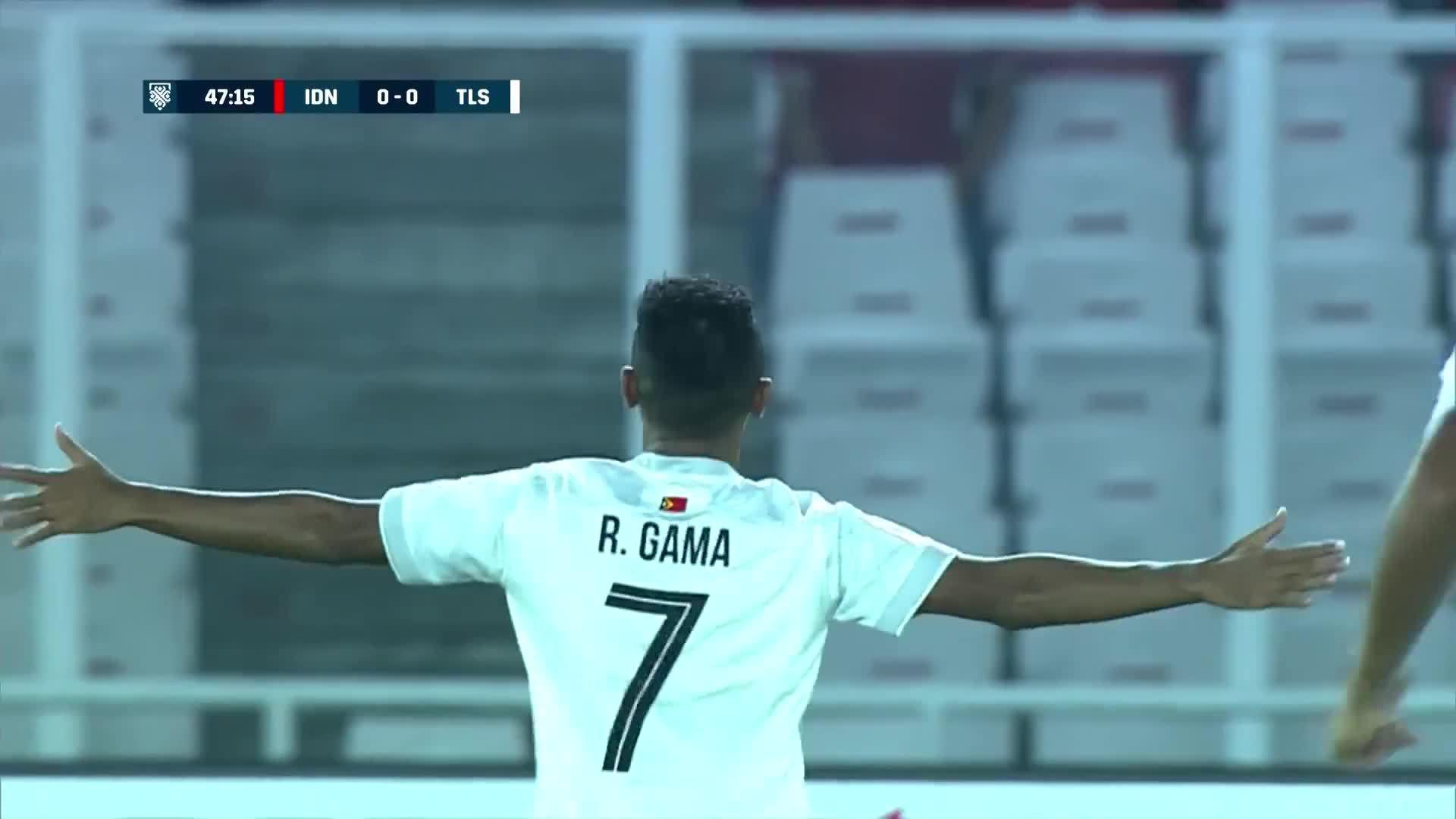 Rufino Gama (Timor Leste 1-3 Indonesia)