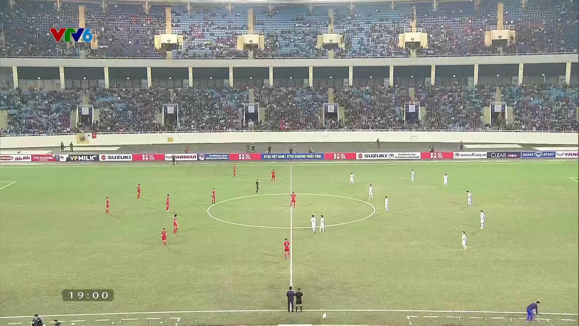 Việt Nam 1-1 CHDCND Triều Tiên