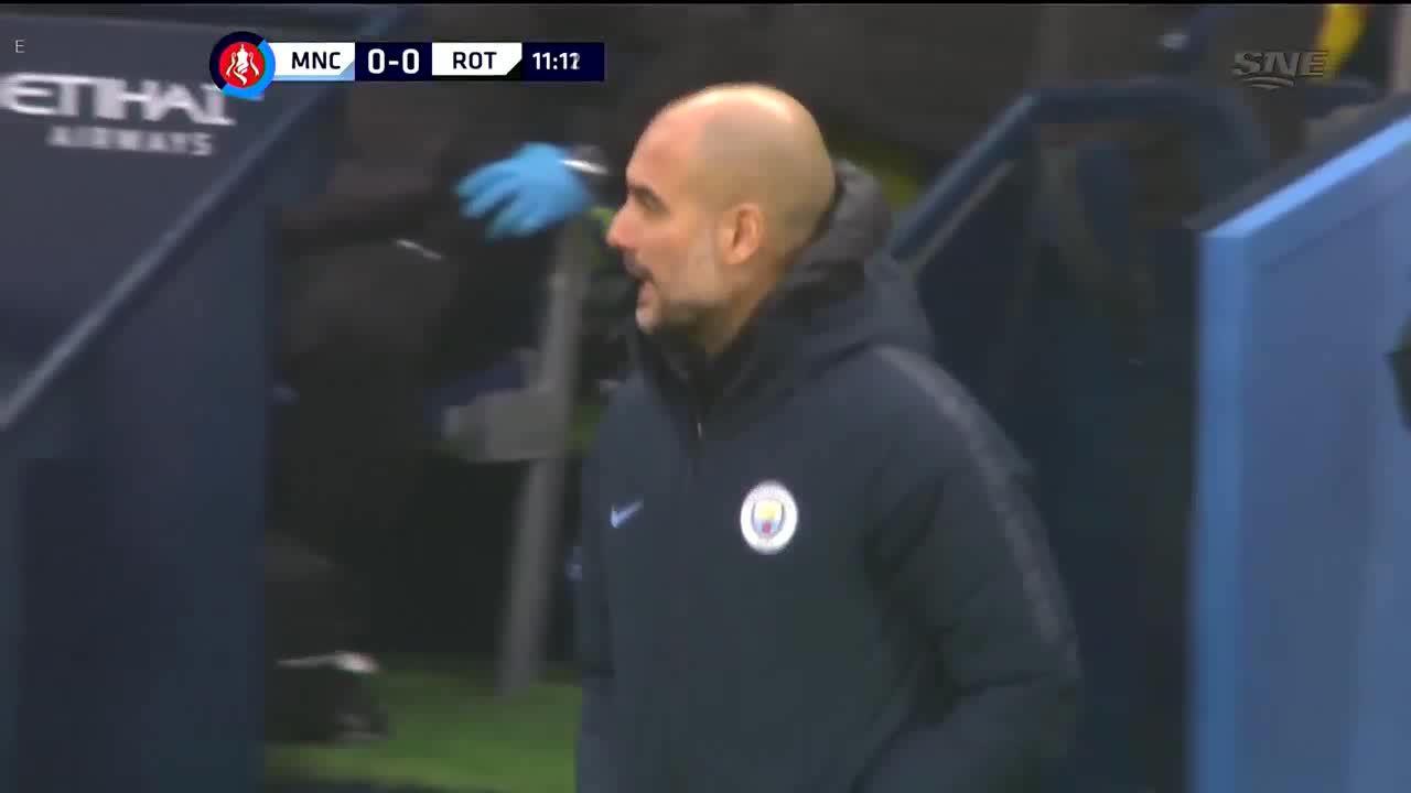 Man City 7-0 Rotherham United