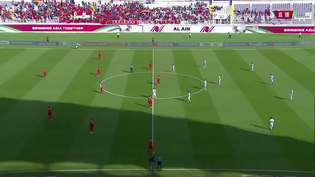 Trung Quốc 2-1 Kyrgyzstan