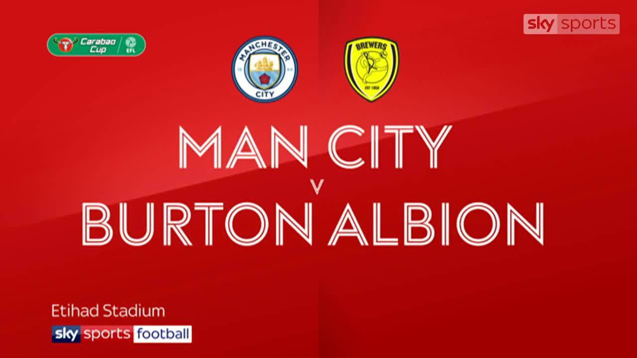 Man City 9-0 Burton Albion
