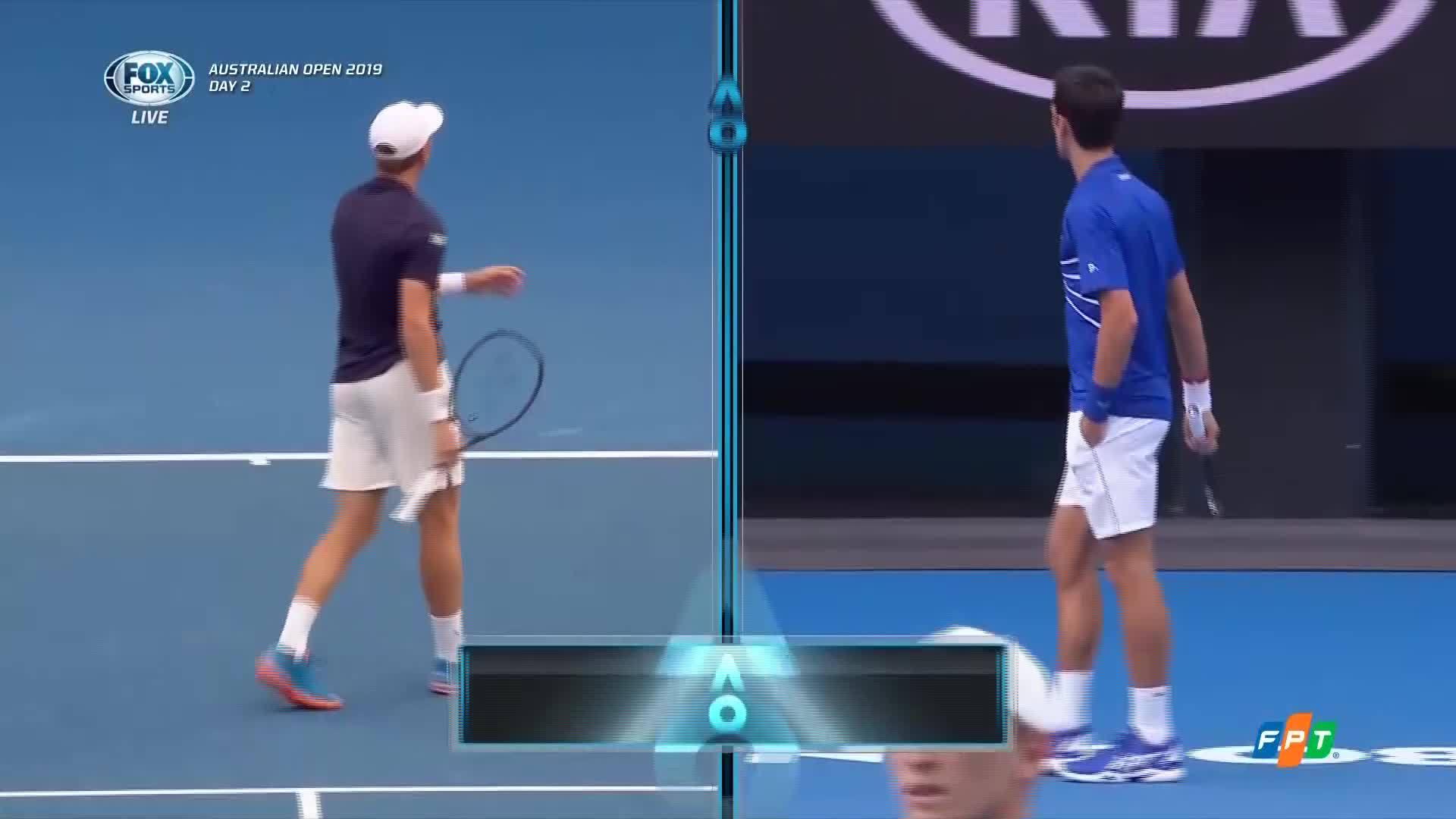 Novak Djokovic 3-0 Mitchell Krueger