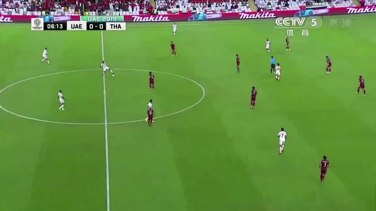UAE 1-1 Thái Lan