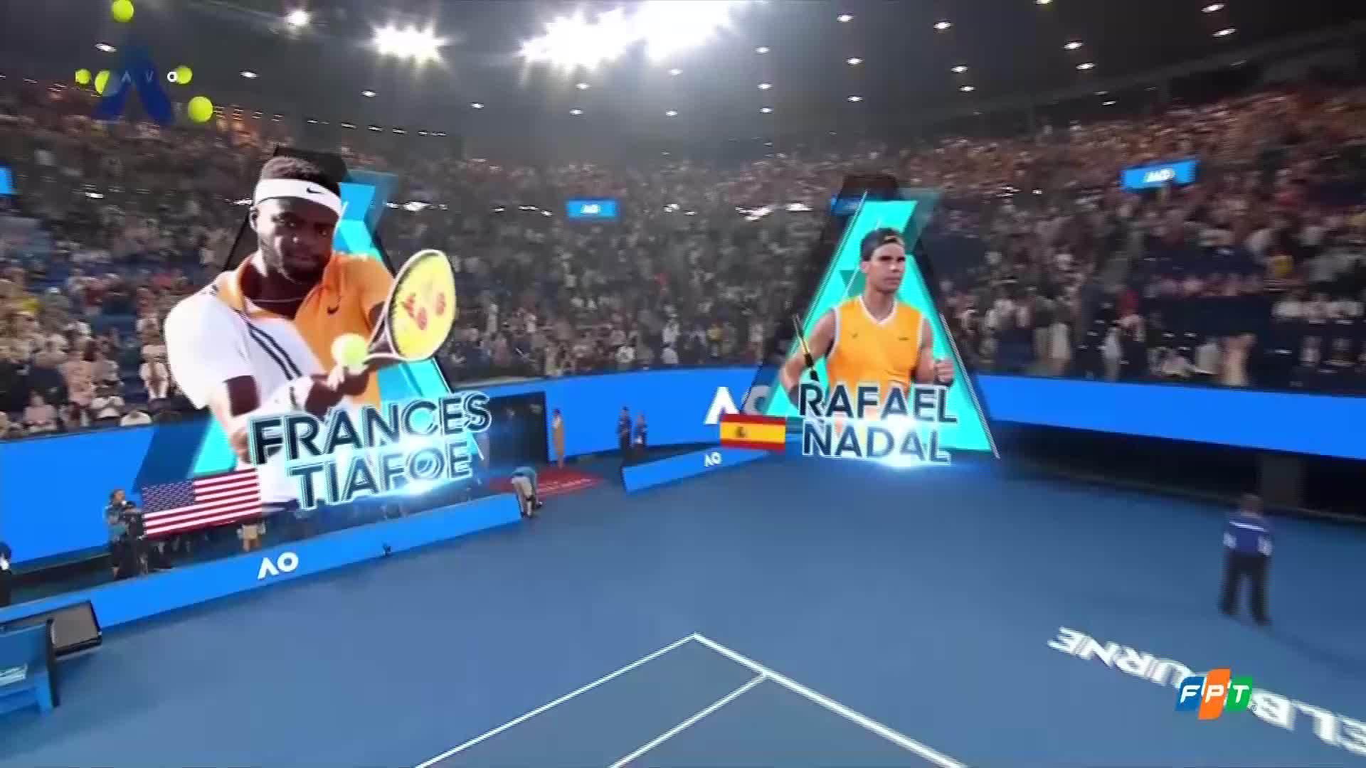 Frances Tiafoe 3-0 Rafael Nadal