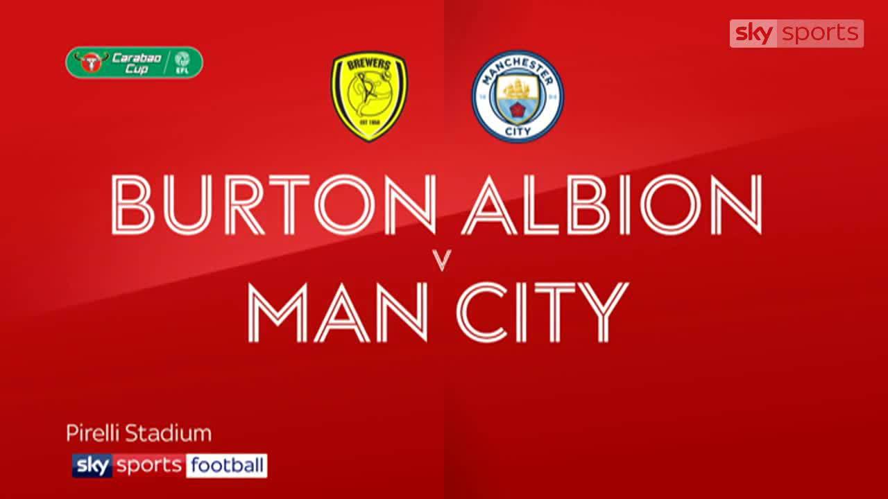 Burton 0-1 Man City